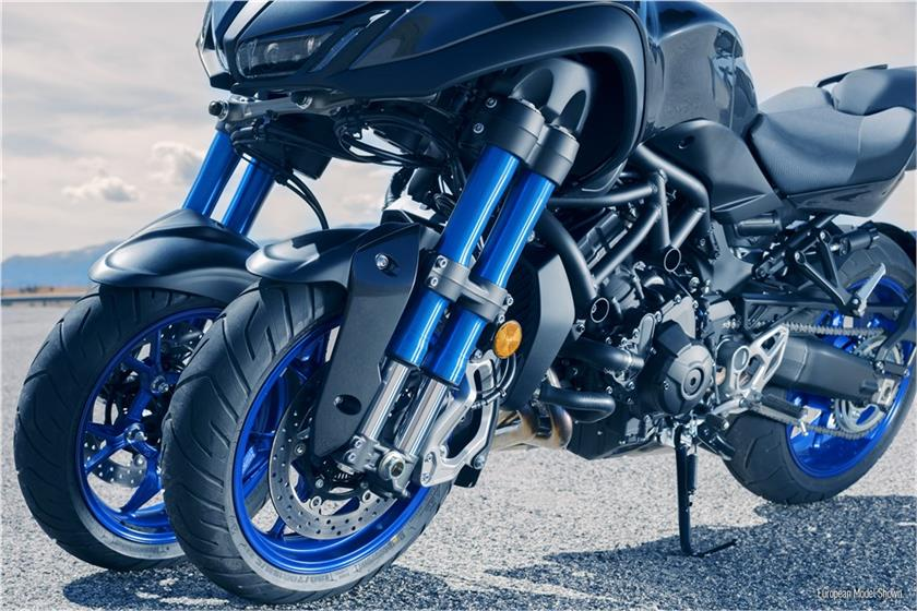 Yamaha Niken three-wheeled motorcycle