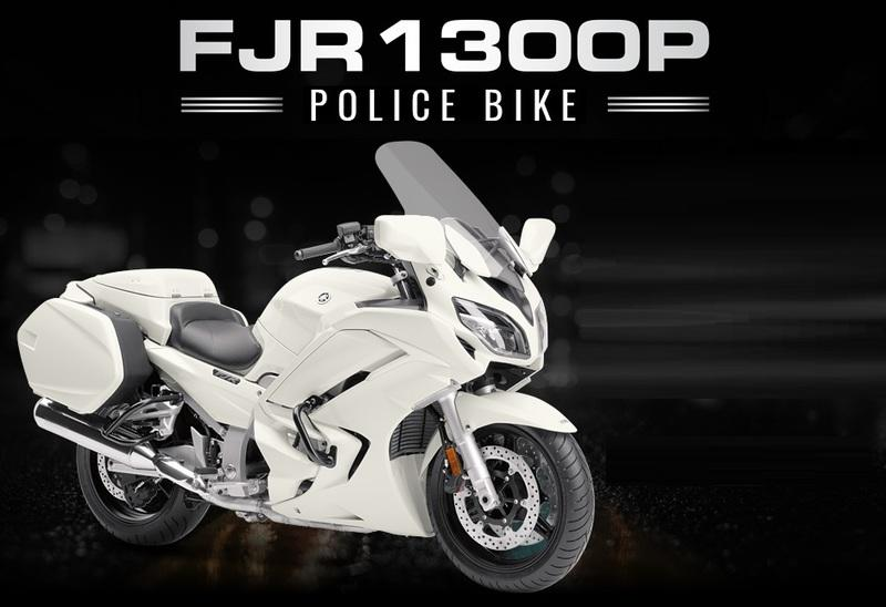 A Police Yamaha FJR1300P